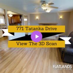 3D Scan For 771 Tatanka Drive, South Lake, Sask