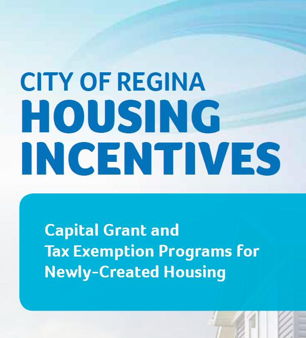City of Regina Housing Incentives