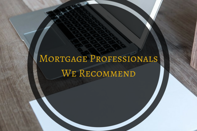Mortgage Professional's We Recommend