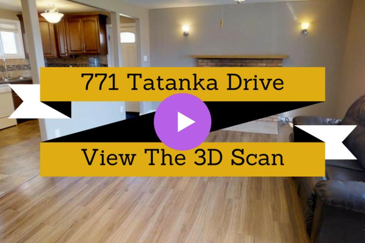3D Scan of 771 Tatanka Drive, South Lake, SK