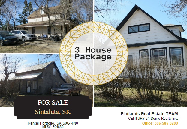 Top 6 Reasons You Should Buy This Sintaluta Housing Portfolio | Become A Landlord